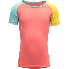Devold Breeze T-Shirt Kids coral
